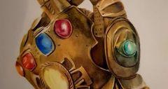 Hand Thanos color pencil